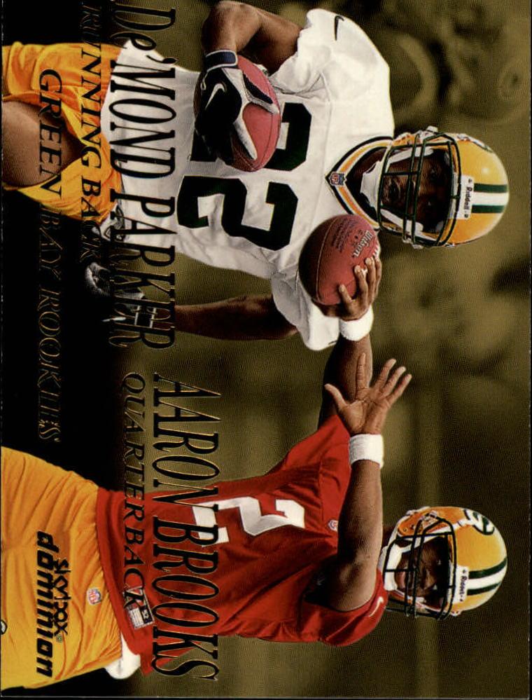 1999 SkyBox Dominion #227 Aaron Brooks RC/De'Mond Parker RC