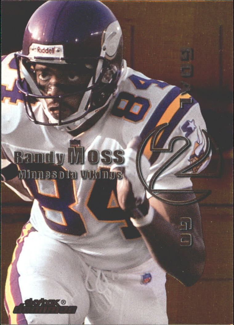1999 SkyBox Dominion Goal 2 Go #3 Randy Moss/Jerry Rice