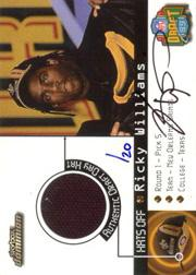 1999 SkyBox Dominion Hats Off Autographs #4 Ricky Williams