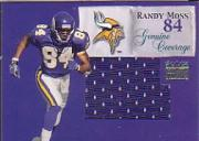1999 SkyBox Premium Genuine Coverage #2GC Randy Moss/265