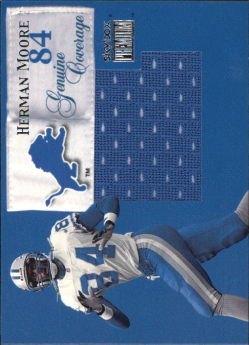 1999 SkyBox Premium Genuine Coverage #3GC Herman Moore/400