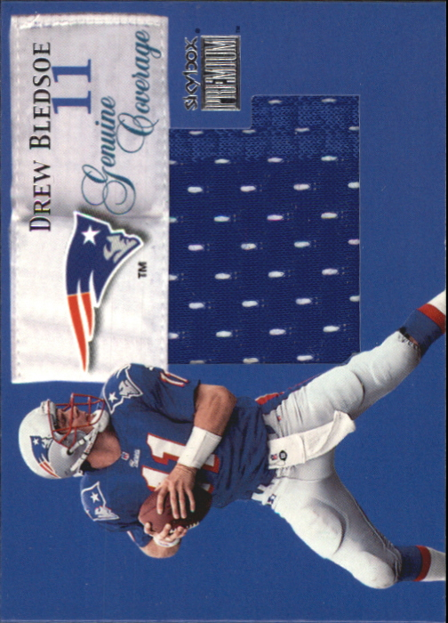 1999 SkyBox Premium Genuine Coverage #6GC Drew Bledsoe/440