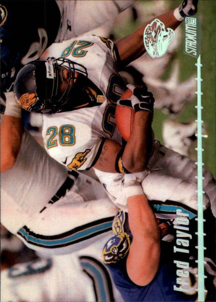 1999 Stadium Club #100 Fred Taylor