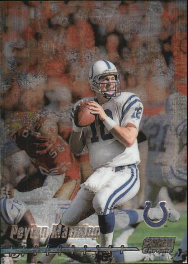 1999 Stadium Club Chrome #69 Peyton Manning