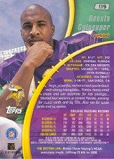 1999 Stadium Club Chrome #119 Daunte Culpepper RC back image