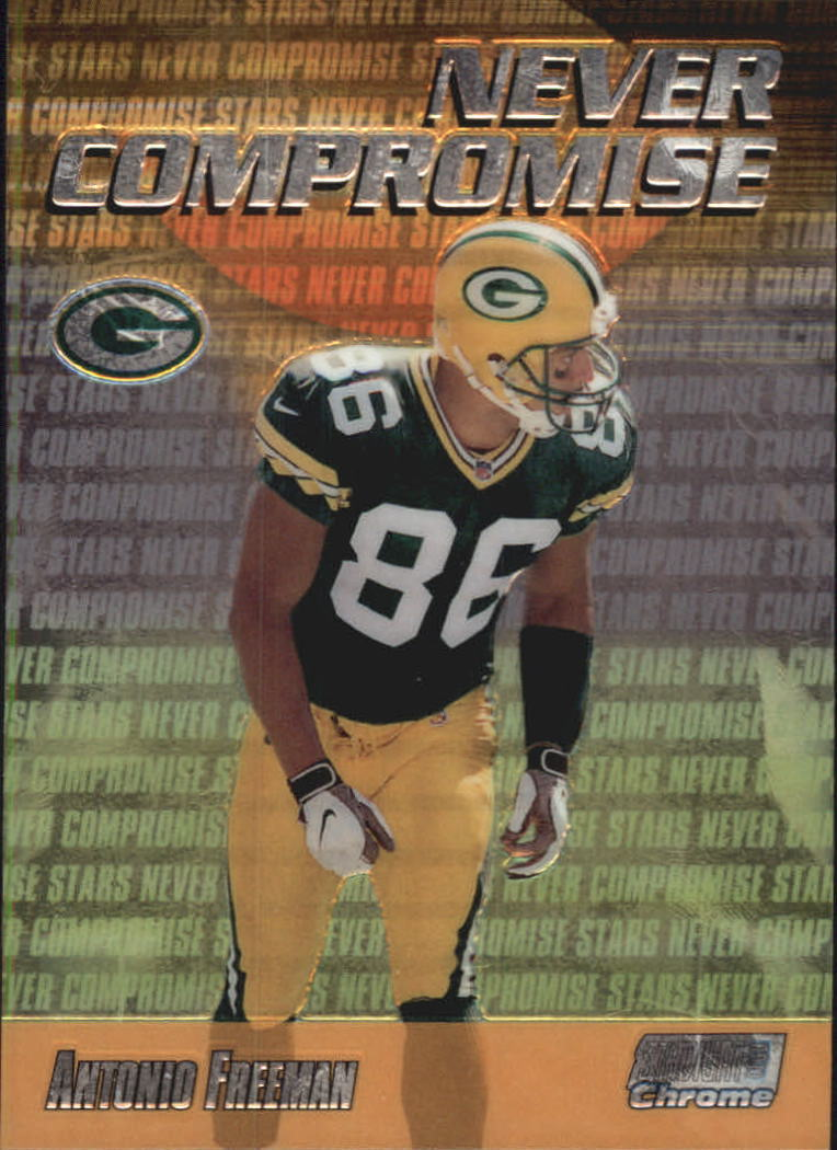 1999 Stadium Club Chrome Never Compromise #NC29 Antonio Freeman