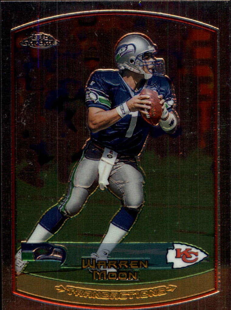 1999 Topps Chrome #4 Warren Moon