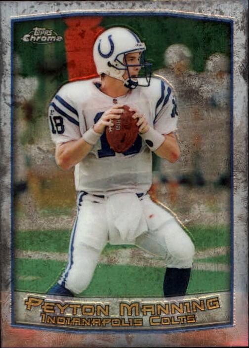 1999 Topps Chrome #120 Peyton Manning