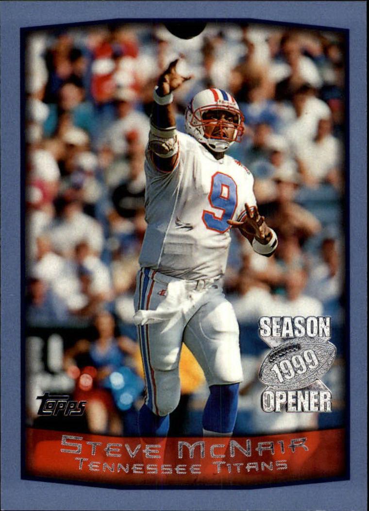 1999 Topps Season Opener #26 Steve McNair