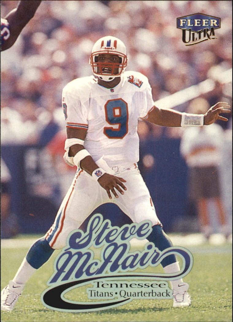 1999 Ultra #81 Steve McNair
