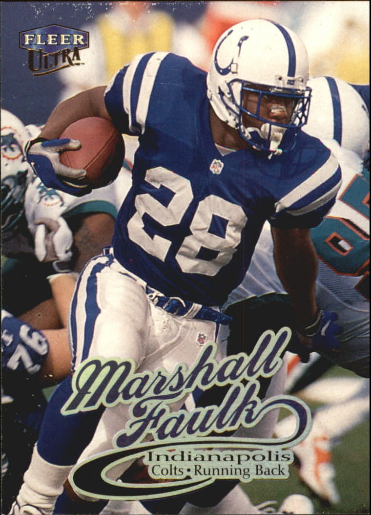 1999 Ultra #85 Marshall Faulk