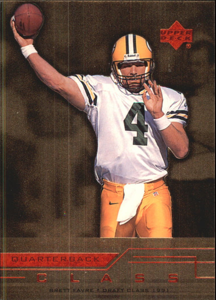 1999 Upper Deck Quarterback Class #QC9 Brett Favre