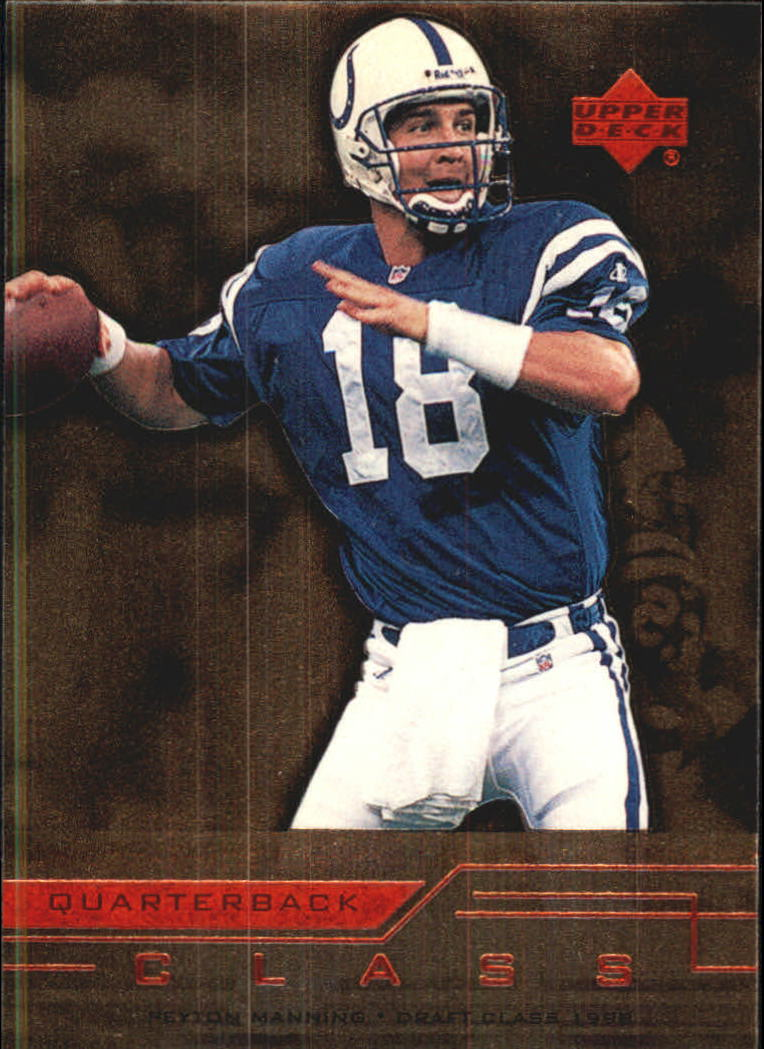 1999 Upper Deck Quarterback Class #QC13 Peyton Manning