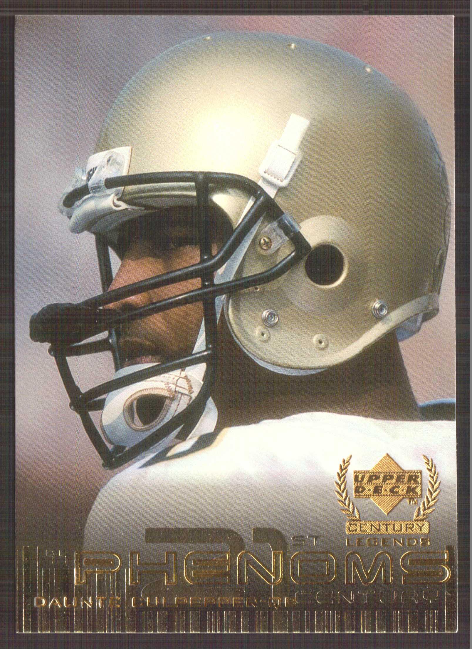 1999 Upper Deck Century Legends #134 Daunte Culpepper RC