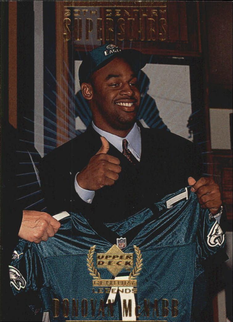 1999 Upper Deck Century Legends 20th Century Superstars #S4 Donovan McNabb