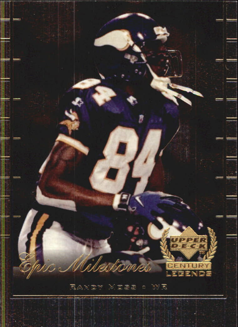 1999 Upper Deck Century Legends Epic Milestones #EM3 Randy Moss