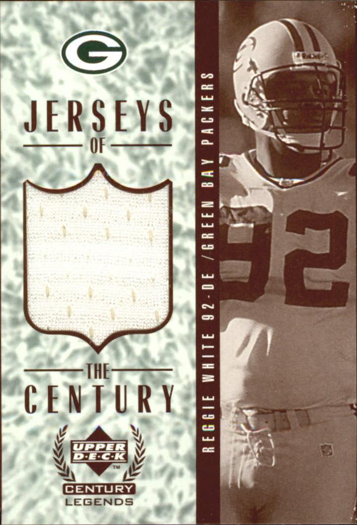 1999 Upper Deck Century Legends Jerseys of the Century #GJ5 Reggie White