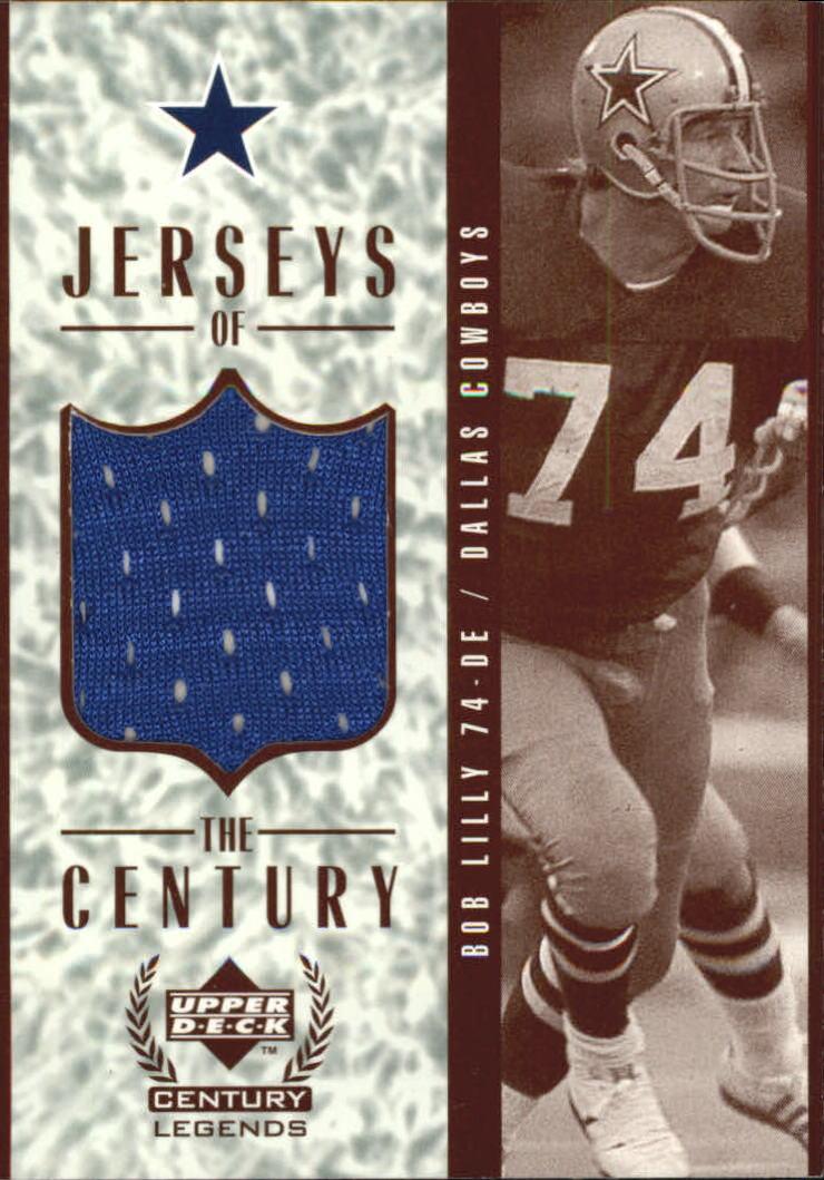 1999 Upper Deck Century Legends Jerseys of the Century #GJ8 Bob Lilly