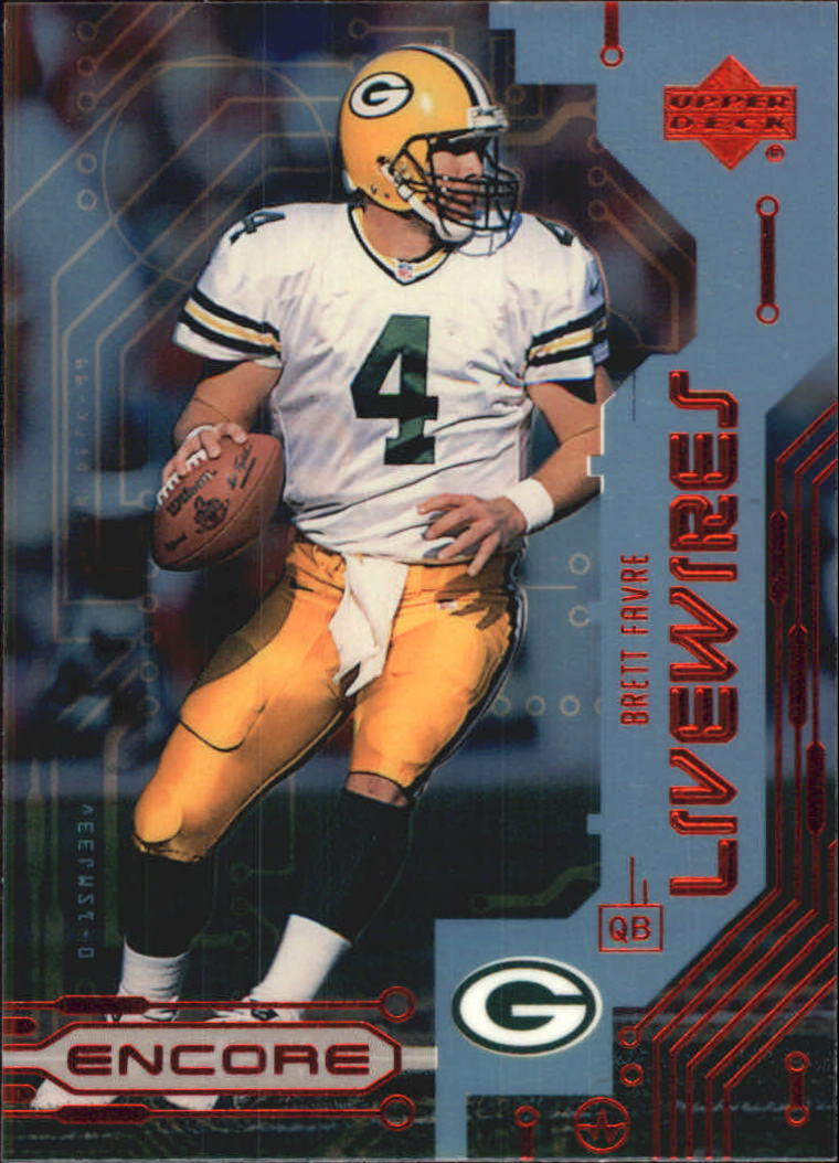 1999 Upper Deck Encore Live Wires #L6 Brett Favre