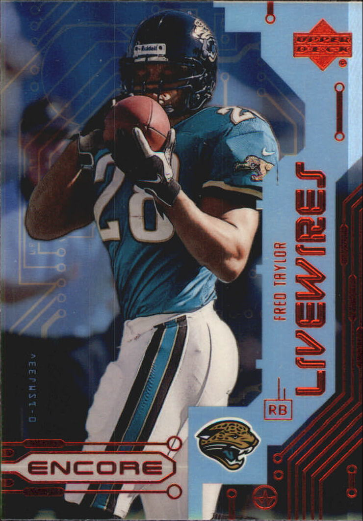 1999 Upper Deck Encore Live Wires #L8 Fred Taylor