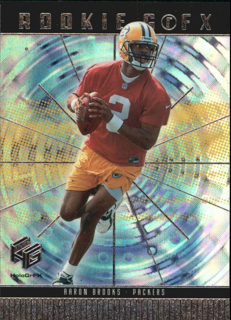 1999 Upper Deck HoloGrFX #88 Aaron Brooks RC
