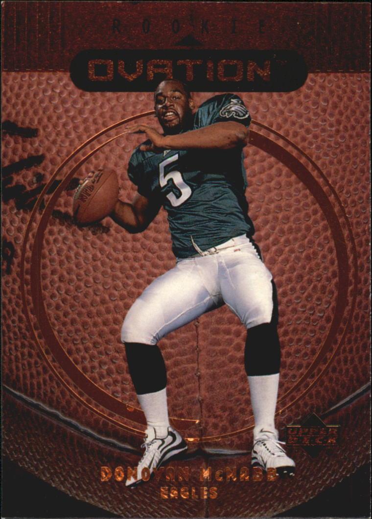 1999 Upper Deck Ovation #62 Donovan McNabb RC