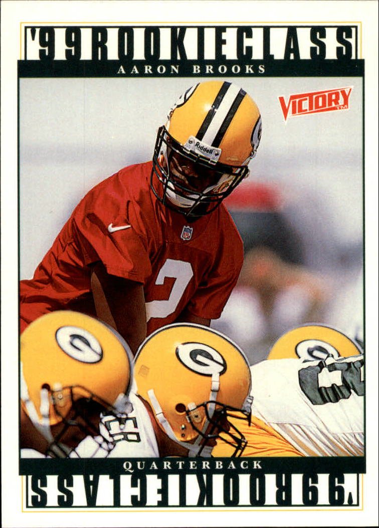 1999 Upper Deck Victory #421 Aaron Brooks RC