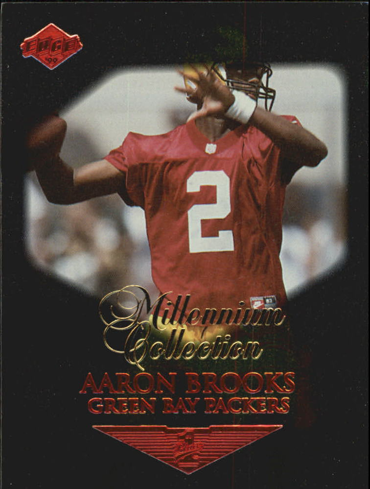 1999 Collector's Edge Millennium Collection First Place #168 Aaron Brooks