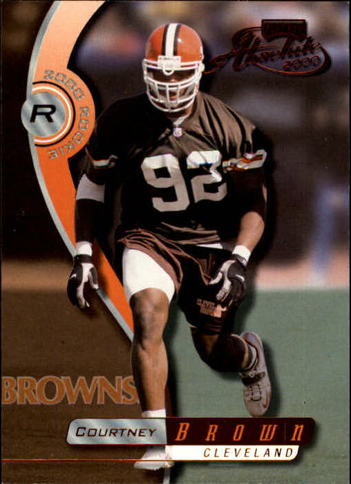 2000 Absolute #152 Courtney Brown RC