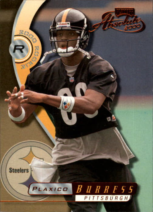 2000 Absolute #153 Plaxico Burress RC