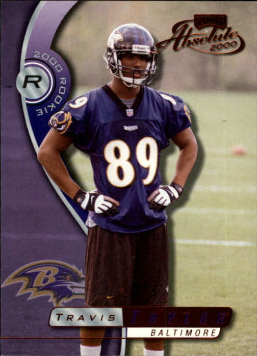2000 Absolute #156 Travis Taylor RC
