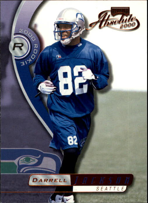 2000 Absolute #173 Darrell Jackson RC