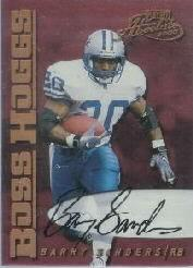 2000 Absolute Boss Hogg Autographs #BH5 Barry Sanders