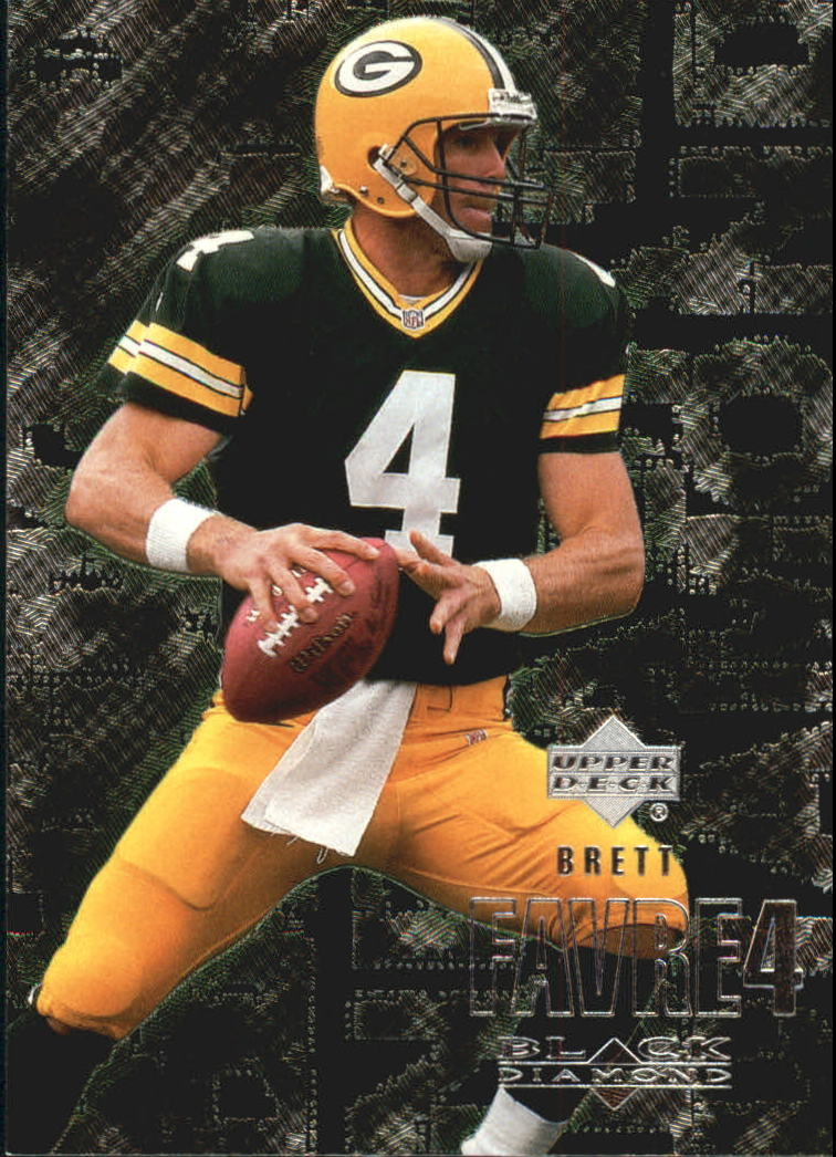 2000 Black Diamond #43 Brett Favre