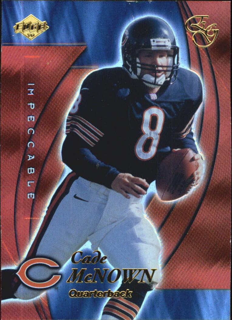 2000 Collector's Edge EG Impeccable #I1 Cade McNown