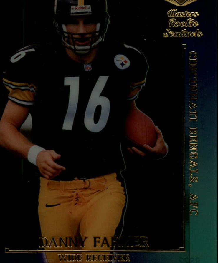 2000 Collector's Edge Masters Sentinel Rookies Gold #RS22 Danny Farmer
