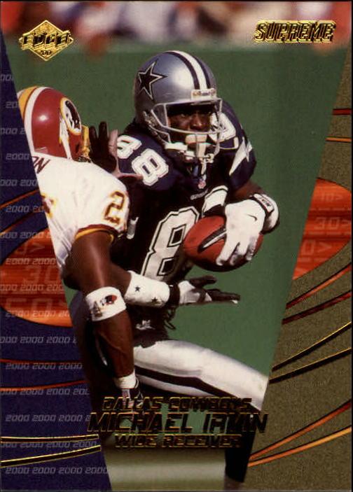 2000 Collector's Edge Supreme #36 Michael Irvin