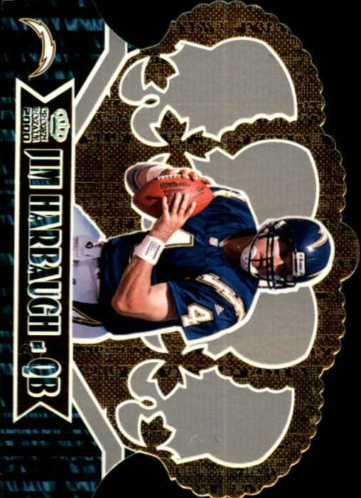 2000 Crown Royale #87 Jim Harbaugh