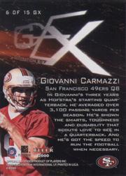 2000 E-X Generation E-X #6 Giovanni Carmazzi back image