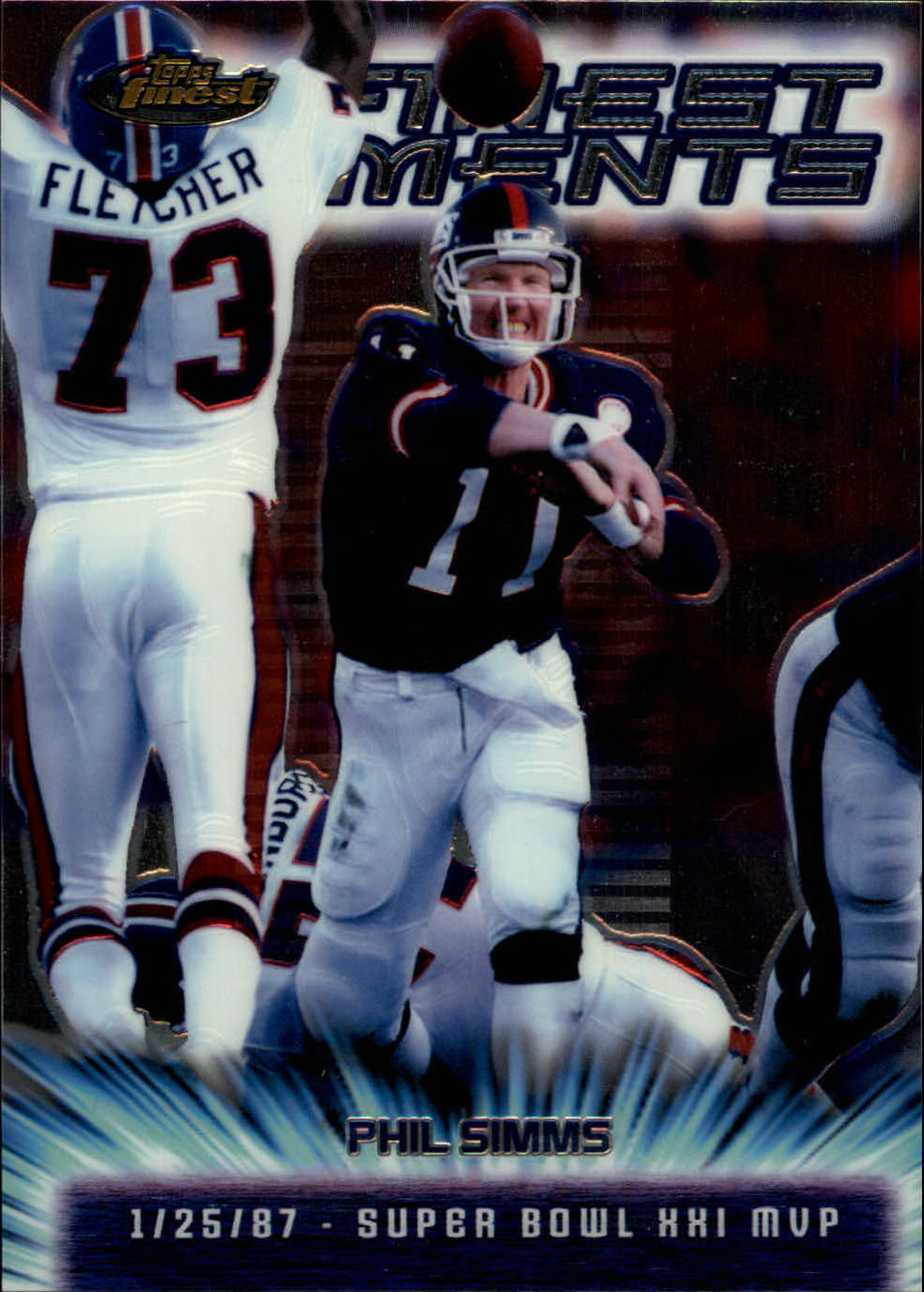 2000 Finest Moments Jumbos #2 Phil Simms