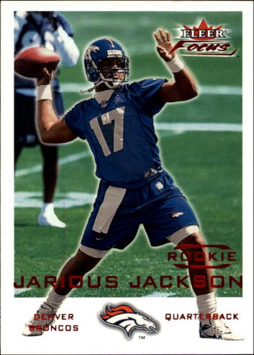 2000 Fleer Focus #251 Jarious Jackson RC
