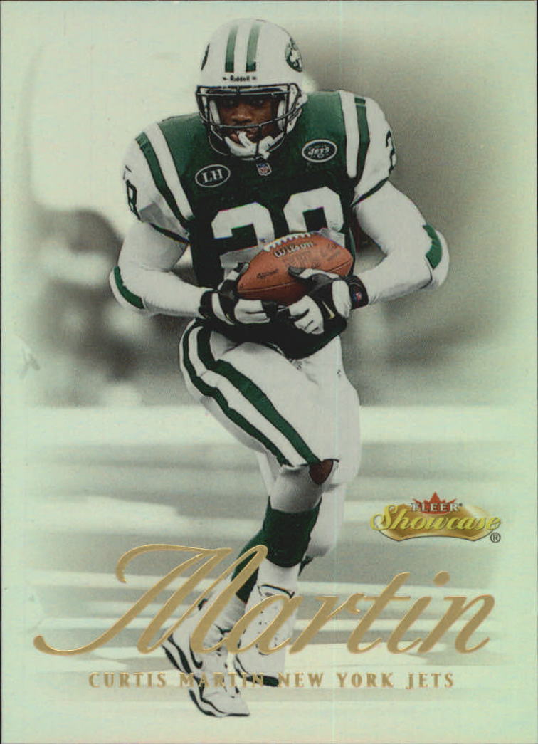 2000 Fleer Showcase #63 Curtis Martin