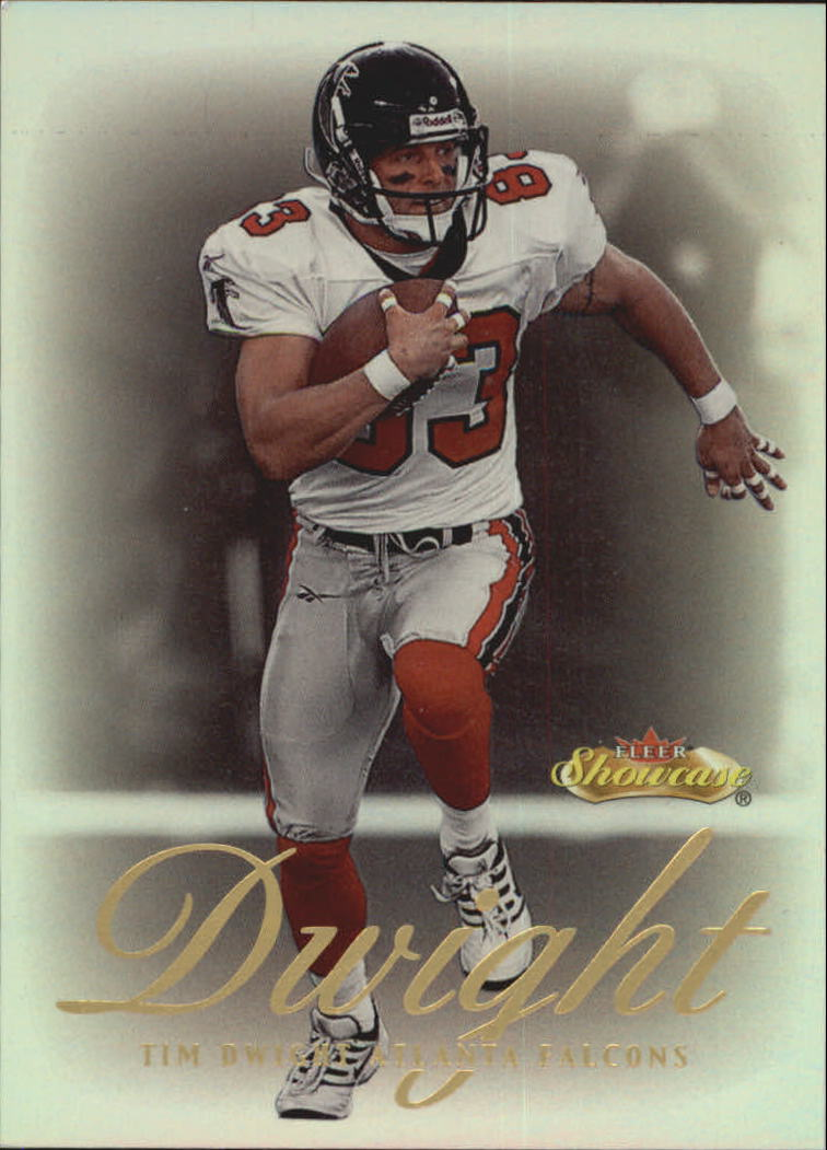 2000 Fleer Showcase #74 Tim Dwight