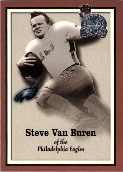 2000 Greats of the Game #57 Steve Van Buren