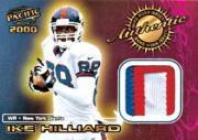 2000 Pacific Game Worn Jerseys #4 Ike Hilliard