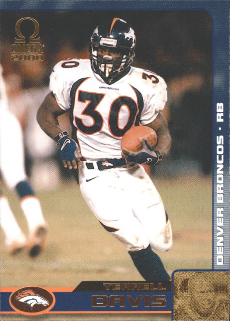 2000 Pacific Omega Gold #42 Terrell Davis