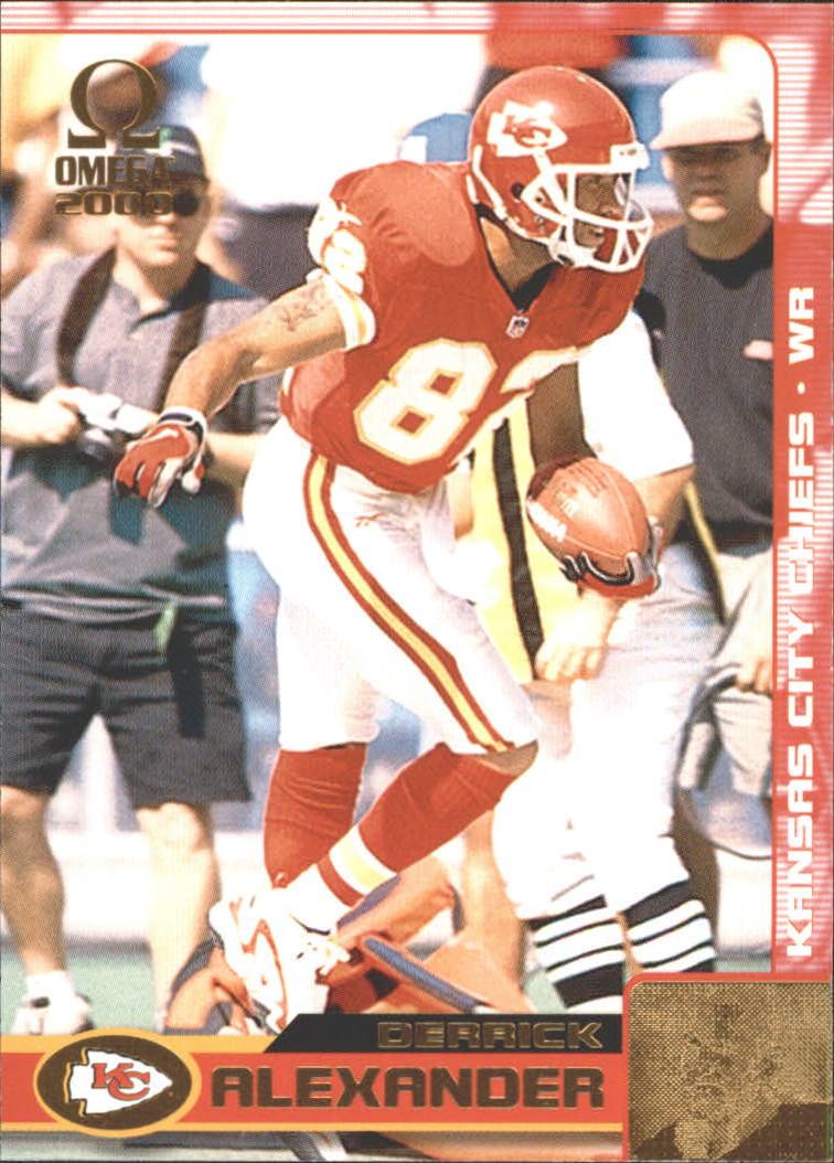 2000 Pacific Omega Gold #67 Derrick Alexander