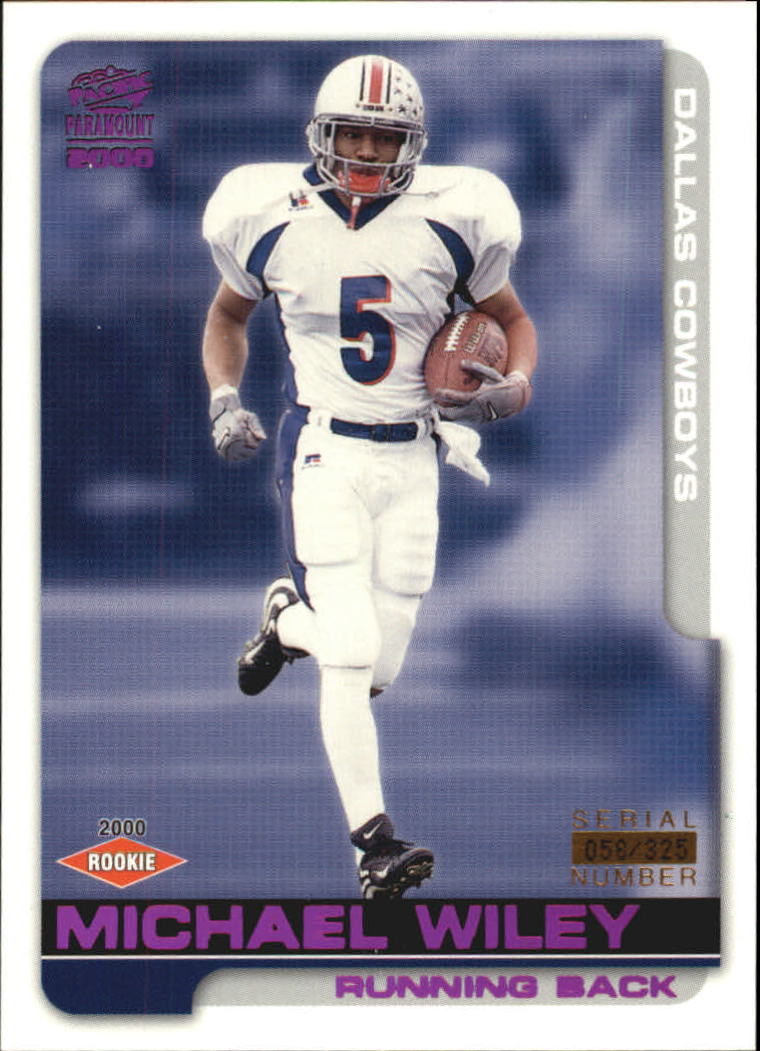 2000 Paramount Draft Picks 325 #69 Michael Wiley