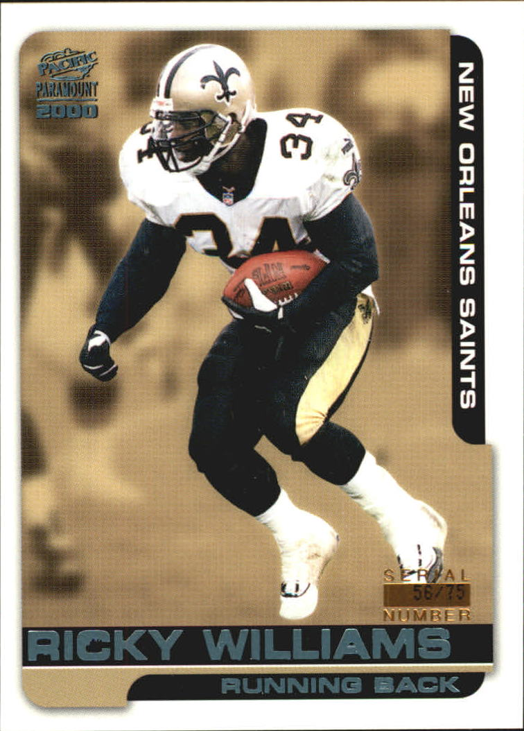 2000 Paramount Platinum Blue  152 Ricky Williams 6b78f0303