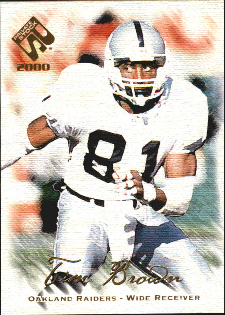 2000 Private Stock #69 Tim Brown